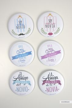 Chapas para las bodas más divertidas - LeBlue Wedding Favors, Wedding Gifts, Boho Wedding, Dream Wedding, Ideas Para Fiestas, Wedding Planner, Diy And Crafts, Wedding Inspiration, Baby Shower