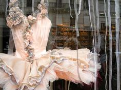 Ballet costume. So pretty, I want to wear it everywhere.