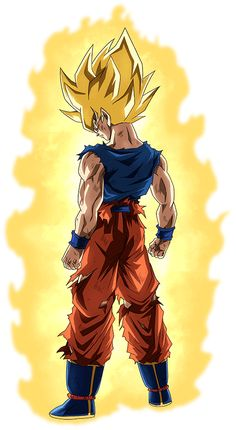 Son Goku SSJ (Namek) render 20 [Dokkan Battle] by on DeviantArt Manga Comics, Akira, Kid Goku, Goku Af, Saga, Cartoon, Deviantart, Victorious Nickelodeon, Naruto