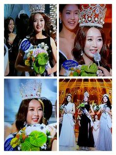 2015  미스코리아 진 이민지 (24.성신여대 성악과졸) The first prize of Miss Korea   #MissKorea