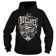 Awesome Tee Its a ROELOFS Thing (Eagle) - Last Name, Surname T-Shirt Shirts & Tees