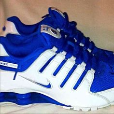 Nike shox for women Pre owned good condition, might have a slight smell from being boxed up. Needs washed, I have never washed them they keep collecting dust. Nike Shoes Athletic Shoes