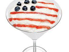 Betsy Ross Martini