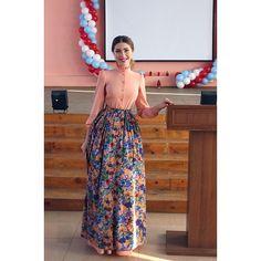 Приоткрываю завесу тайны) Персиковое платье из новой коллекции со съемной цветочной юбкой. #katerinadorohova