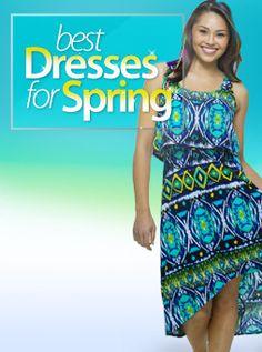Best Dresses for Spring #fittingroomspring!