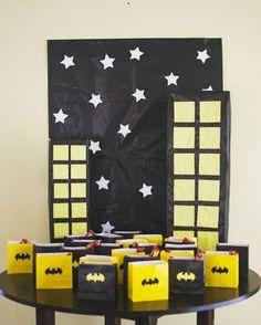 Birthday Boy #6: Batman.Fiesta de cumpleaños de niño de tematica superheroe