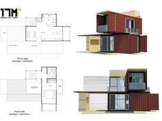 Casas construidas en contenedores metálicos | Jumabu Design Life