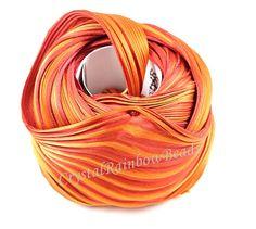 Hey, I found this really awesome Etsy listing at https://www.etsy.com/listing/222167978/shibori-silk-ribbon-hand-dyed-silk-bias