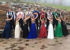 People Are Loving These Teens And Their Perfectly-Coordinated Superhero Prom Outfits. The students at Subiaco Academy in Arkansas were snapped by Johnny Bolinger, who takes pictures for BN Focus Photography.