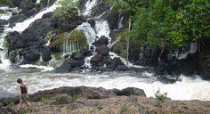 Blanche Marie watervallen bezoeken