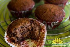 Muffins com Gotas de Chocolate sem Gl�ten