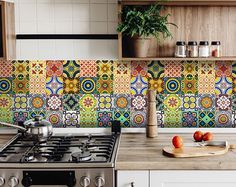 29 kitchen backsplash tile stickers