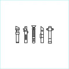 lightsaber tattoo designs?