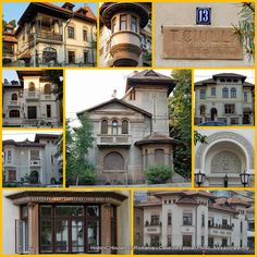 The late phase of the Neo-Romanian architectural style Bucharest, Byzantine, Historic Homes, Wonderful Places, Art Deco, Mansions, Nice, House Styles, Home Decor