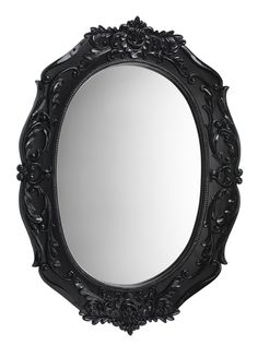 Make a dark and dramatic statement with this vintage-effect mirror, ideal for those looking to bring opulence to a room. Priced at £36