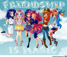 Resultado de imagen para little pony friendship is magic
