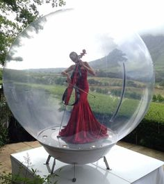 Music in a Bubble - Musician in a Bubble | Surrey | South East | UK #string musician #bubble act #electric violinist