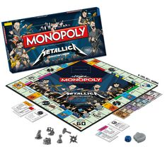 Metallica Monopoly for a guys gift $33.99