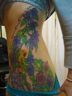 Her first tattoo