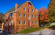 The Schriver Homestead Mill -Carroll County Maryland