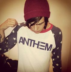 Shared by Oliver Sykes. Find images and videos about love, sleeping with sirens and kellin quinn on We Heart It - the app to get lost in what you love. Guys In Beanies, Anthem Made, Spring Line, Andy Black, Sleeping With Sirens, Kellin Quinn, Pop Punk, Melanie Martinez, Future Husband