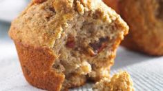 Banana, Date & Walnut Muffins Recipe Date Muffins, Sugar Free Banana Bread, Buckwheat Recipes, Muffin Bread, Soda Bread, Gluten Free Baking, Easy Snacks, Muffin Recipes, Recipes
