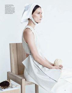Vogue UK Fevereiro 2015 | Kim Peers, Kirsten Owen + Mais por Patrick Demarchelier [Editorial]