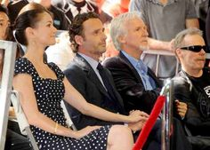 Sarah Wayne Callies and Andrew Lincoln at Gale Anne Hurd's Walk of Fame Ceremony in 2012 #thewalkingdead #twd #thewalkingdeadseason7 #twdfamily #twdfinale #amc #walkingdead #rickgrimes #andrewlincoln #norman #normanreedus #daryl #dixon #michonne #chandler #chandlerriggs #carl #carlgrimes #carol #negan #lucille #maggie #glenn #love