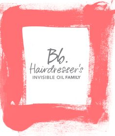 Bb.Hairdressers Invisible Oil Family #bumbleandbumble #BbInvisible
