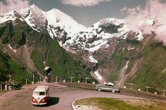 Oostenrijk, zestiger jaren. Roads, Trains, Mountains, Nature, Naturaleza, Road Routes, Street, Nature Illustration, Off Grid