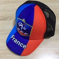 55e9a510319 France national football team Cap FÚTBOL Soccer Adults FUSSBALL New Mens  Calcio Baseball Caps Hat Adjustable Snapback Sport Unisex BNWT
