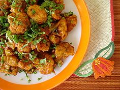 Gobi Manchurian - we made this for dinner tonight, and not only was it relatively easy, it was soooo delicious!!!!!!!!!!
