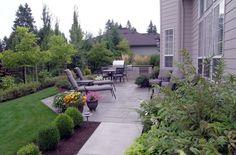 back patio- simple but pretty