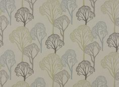 Delaware Eucalyptus - Delaware - Prints and Weaves : Upholstery Fabrics, Prints, Drapes & Wallcoverings Curtain Material, Curtain Fabric, Delaware, Romo Fabrics, Upholstery Fabrics, Dining Room Inspiration, Curtains With Blinds, Bedroom Curtains, Fabric Wallpaper