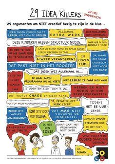 Eentje om de week mee te starten: idee killers in het onderwijs pic.twitter.com/Lw9T5i0Lfp