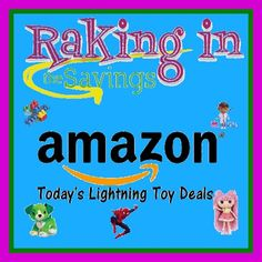 Round up of Amazon Toy Lightning Deals for 11/28! - http://www.rakinginthesavings.com/round-up-of-amazon-toy-lightning-deals-for-1128/