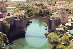 Mostar and the Old Bridge are in full bloom during the spring and summer seasons.   Visit our website: www.tourguidemostar.com #oldbridge #mostar #herzegovina #neretva #TGM #TourGuideMostar #travel #explore #architecture #luxurytravel