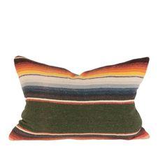 Vintage Serape pillow www.houseofcindy.com