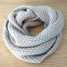 Snood au point de riz Plus