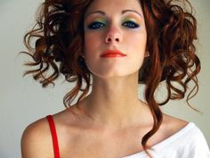 Model: Amberly Sweetser, Make-up Madd Style Cosmetics (Drop Dead Fred collection)