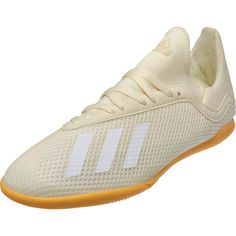best value 1fdb7 e8373 adidas X Tango 18.3 IN – Youth – Off WhiteWhiteBlack. SoccerPro. Buy the  youth adidas X indoor soccer shoes ...