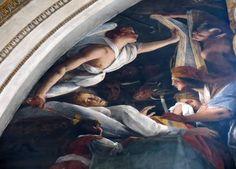 Novara, Basilica di San Gaudenzio, particolare della volta