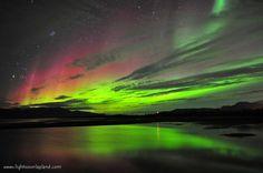 Aurora Borealis Lights over Lapland #1