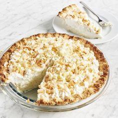 Tom Douglas' Dahlia Lounge Coconut Cream Pie! Recipes | Triple Coconut Cream Pie | Sur La Table