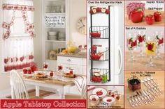 Apple Kitchen Decor | ... Kitchen Interior Designs: Decorating Your Kitchen  With An Apple Theme