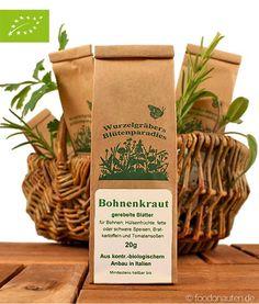 Bohnenkraut ist als klassisches Gewürz für Bohnengerichte bekannt, passt aber auch zu anderen Hülsenfrüchten und Gemüsegerichten. Es istebenfalls gut für Fleischgerichte geeignet, die einen starken Eigengeschmack haben, wie z.B. Lamm- oder Wildgerichte. http://www.foodonauten.de/produkte/kuechenkraeuter/bohnenkraut-gerebelt-20g-bio/