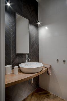 Toaleta dla gości   proj. Jacek Tryc