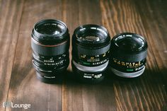 I wanted to share three Canon FD lenses that I think are great lenses to look into if you want to give vintage lenses a try on your mirrorless camera.