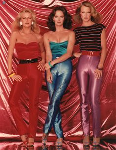 Charlies Angels--The hair! The pants!