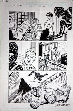 John Romita Jr - UX SPIDEY, p. 33 Comic Art